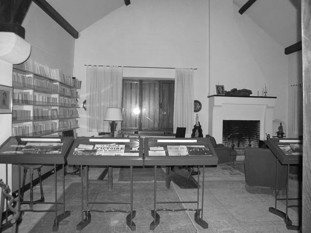 Bureau de Léon Blum avant travaux