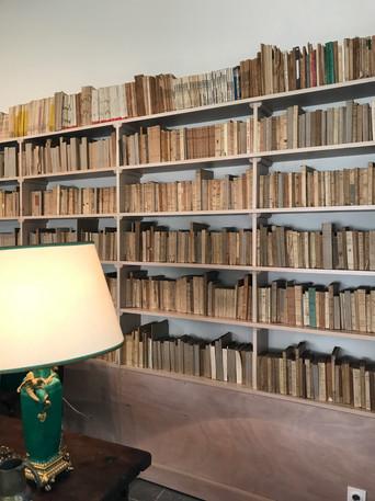 Réfection de la bibliothèque du bureau