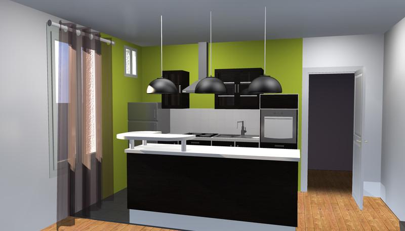 Projet d'aménagement cuisine