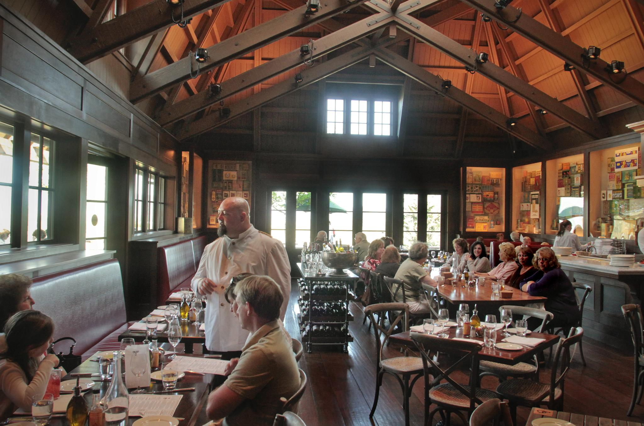 Coppola Winery Rustin Restaurant Cardinal Transportation Wine Tours