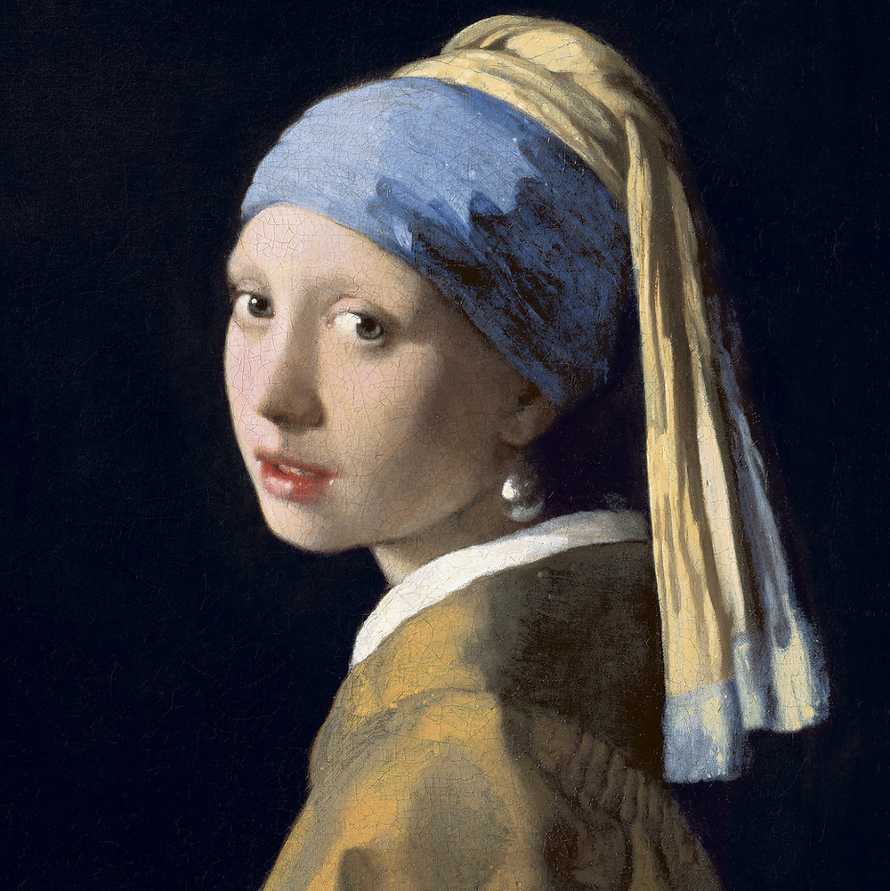 Johannes Vermeer, Girl With a Pearl Earring, 1665 -- Mauritshuis Museum Hague
