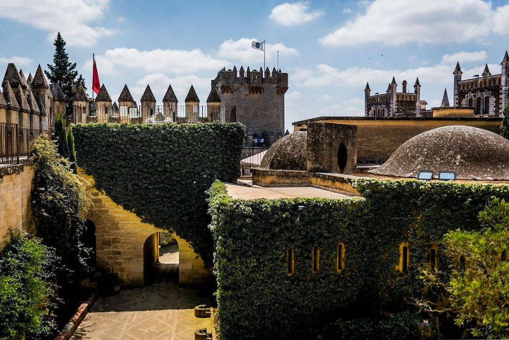 the 8th century Castillo Almodovar del Rio outside Cordoba