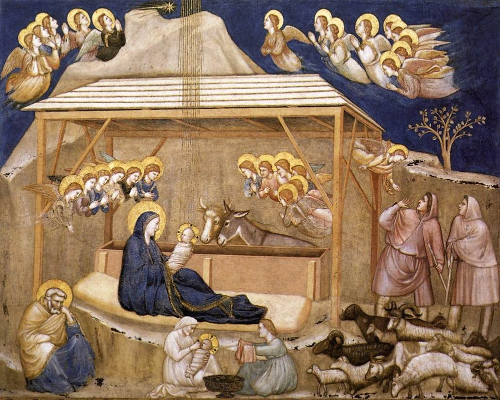 Nativity scene by Giotto or his workshop