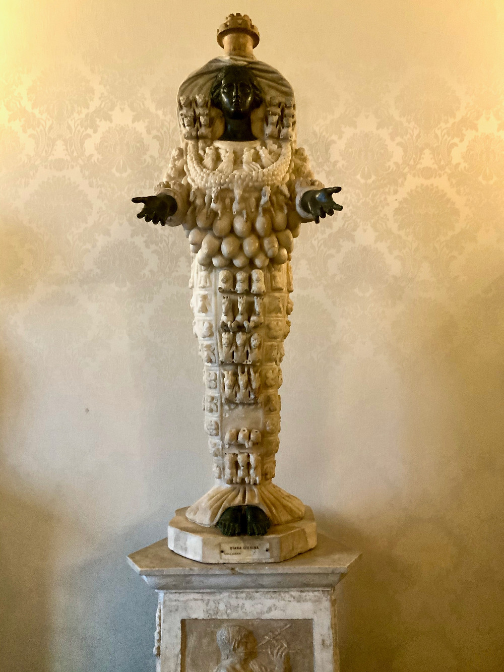 Artemis of Ephesus, the fertility cult statue
