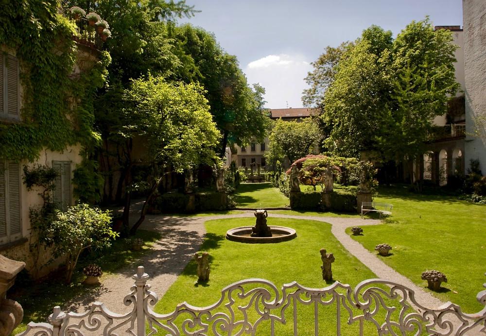 Casa degli Atellani and Leonardo's Vineyard, across from The Last Supper