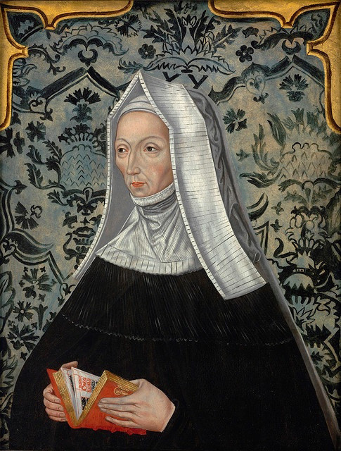 Portrait of Lady Margaret Beaufort Stanley