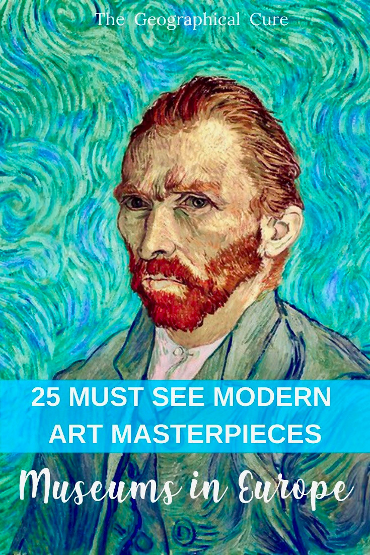 25 Best Modern Art Masterpieces in Europe and where to find them