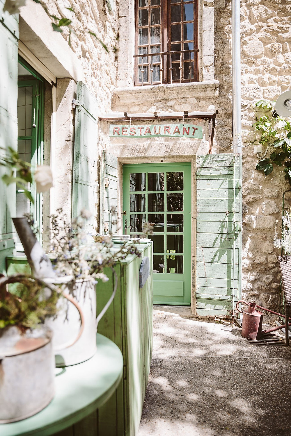 pretty land in Oppede-le-Vieux, a hidden gem in Provence's Luberon Valley
