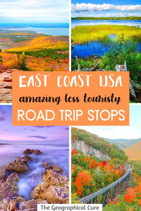 Less Touristy Towns on the East Coast US, For A Perfect Road Trip
