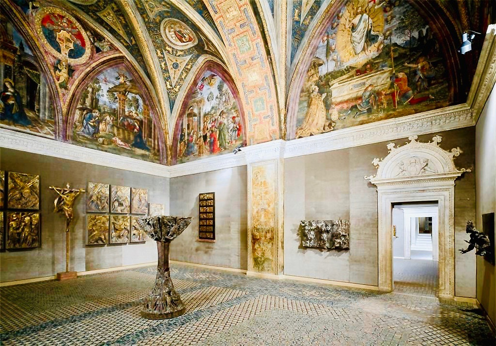 Room of the Mysteries of Faith in the Borgia Apartments