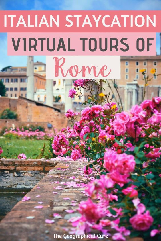 Italian Staycation, the best virtual tours of Rome