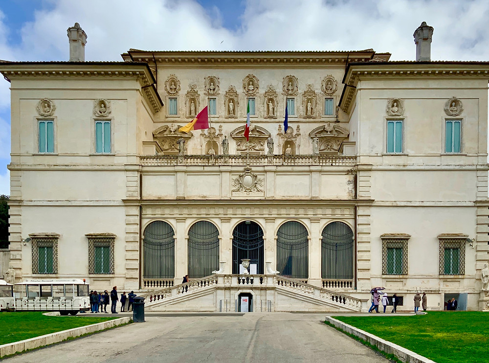 the Borghese Gallery, one of the world's greatest museums
