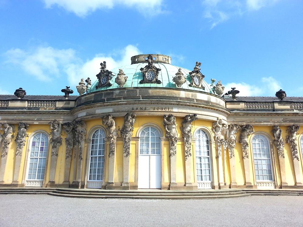 Sanssouci Place in Potsdam Germany
