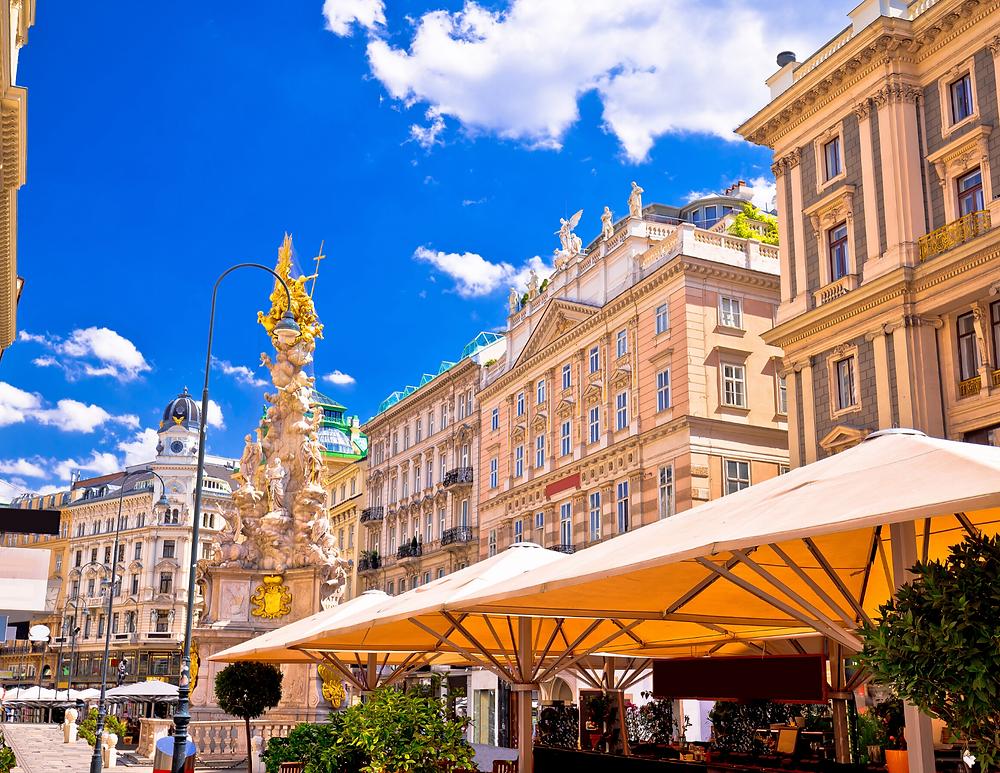 Graben Street in Vienna