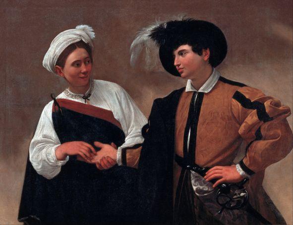 Caravaggio, The Fortune Teller, 1593-1595