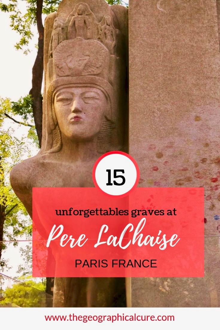 15 Unforgettable Graves at Paris' Pere Lachaise Cemetery