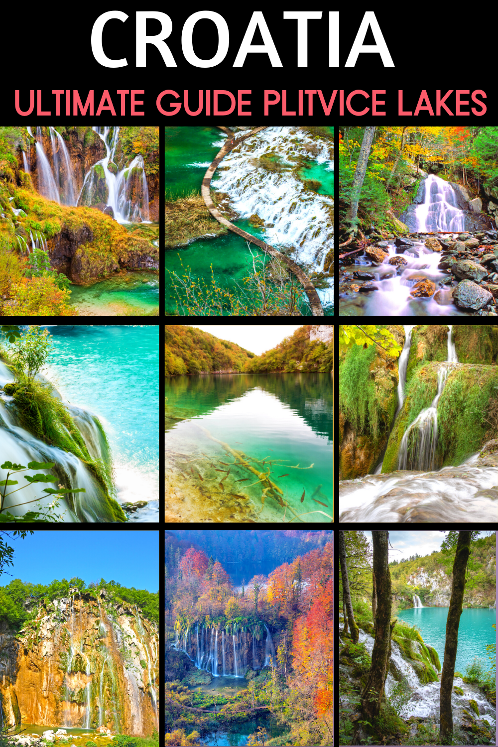 Travel Guide & Tips for Visiting Plitvice Lakes National Park in Croatia