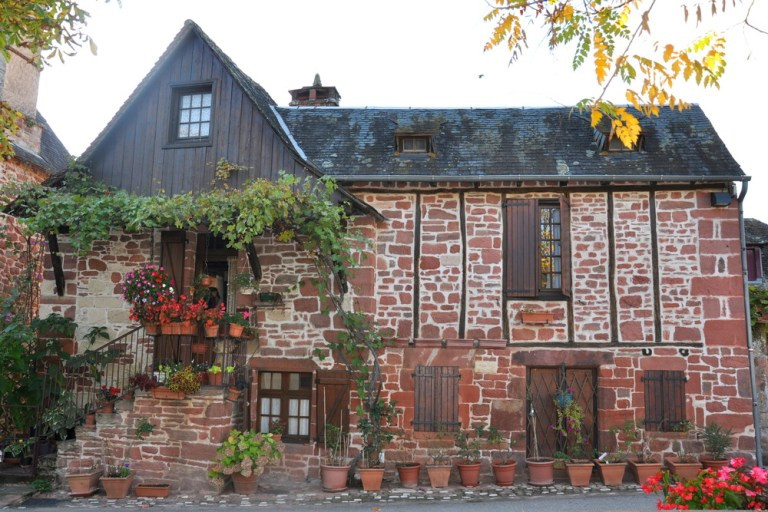 beautiful stone home in Collonges-la-Rouge