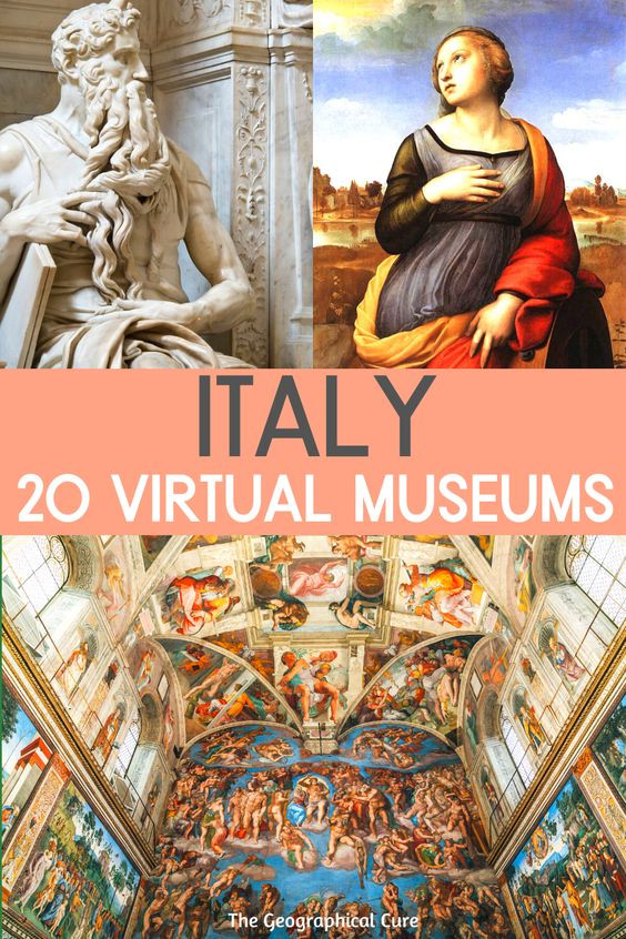 20 Amazing Virtual Museums in Italy To Enjoy Online at Home