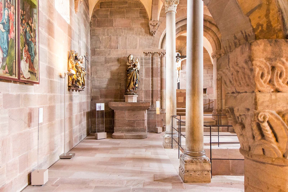 the double chapel in Nuremberg Castle