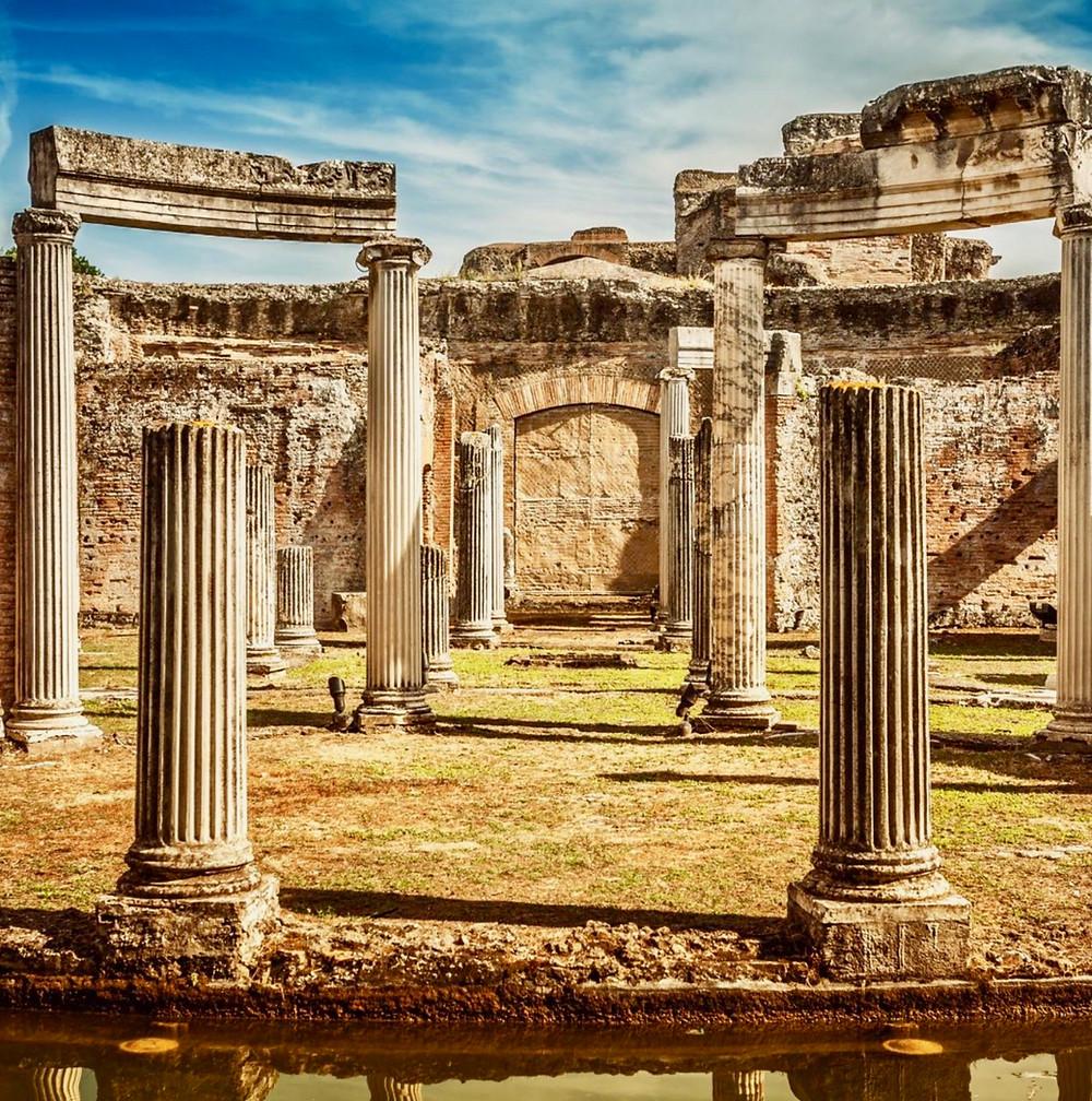 Hadrian's private island