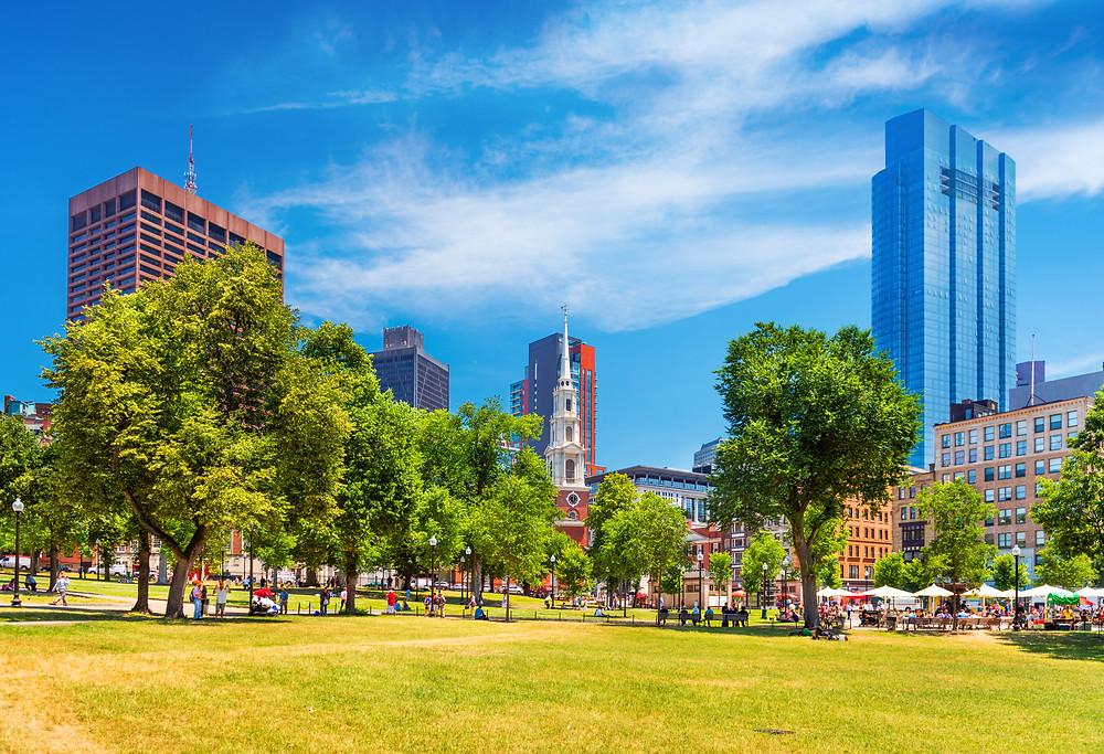 Boston Common, one of Boston's best green spaces
