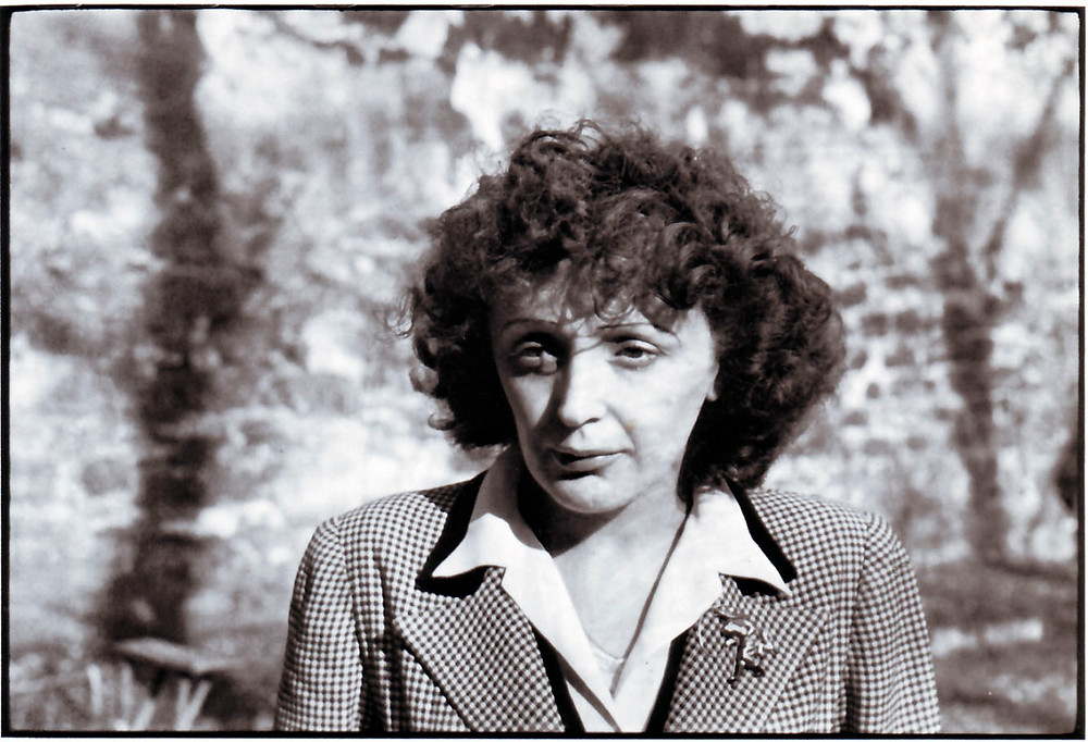 Edith Piaf, famous French singer