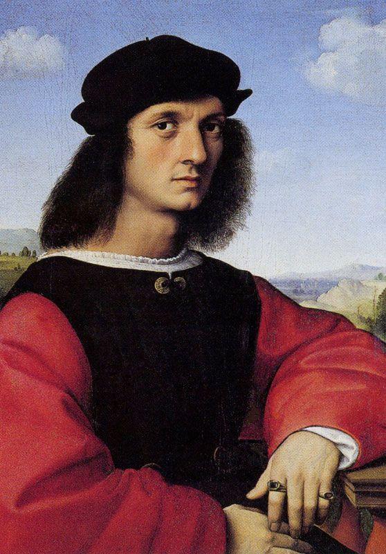 Raphael, Portrait of Angolo Doni, 506
