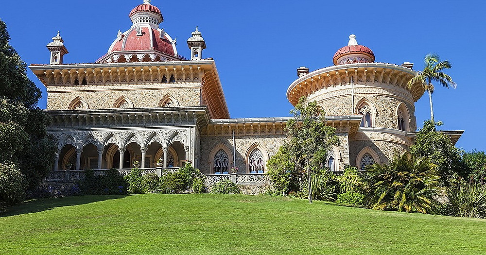 Monserrate Palace about 7 kilometers outside of Sintra