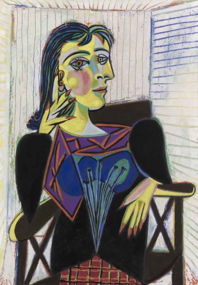 Portrait of Dora Maar, 1937, by Pablo Picasso