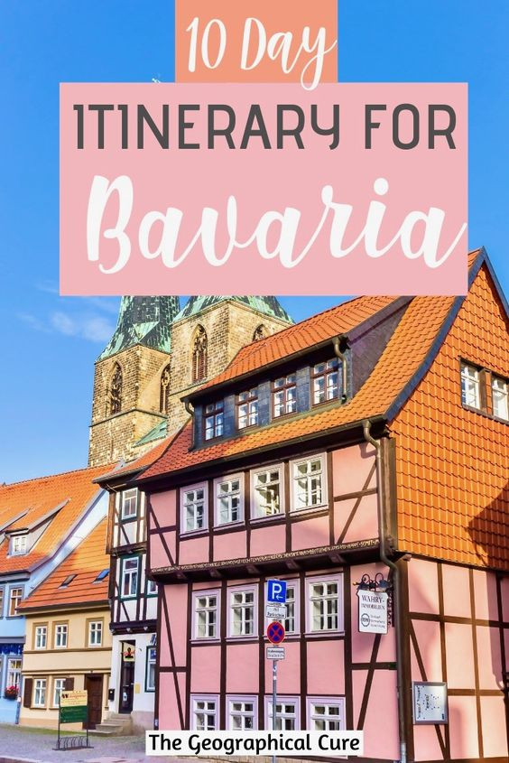 10 day itinerary for Bavaria Germany