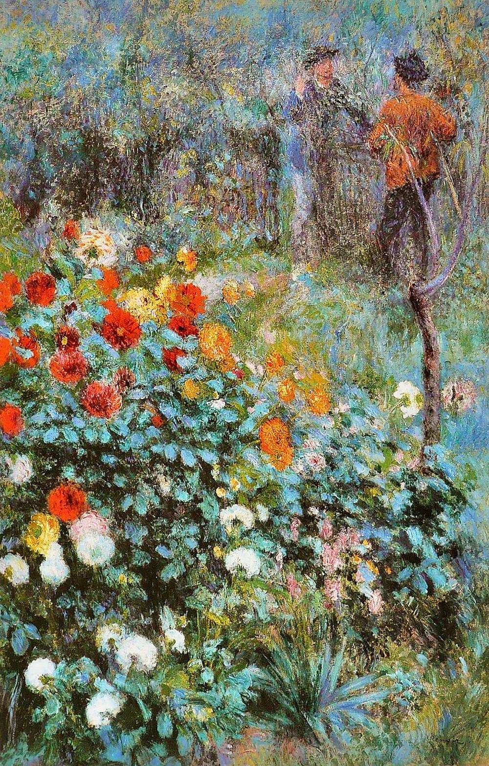 Renoir, Garden in the Rue Corot, 1876