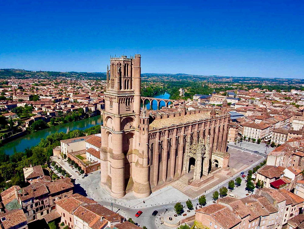 Albi Cathedral, a must see landmark in southern France