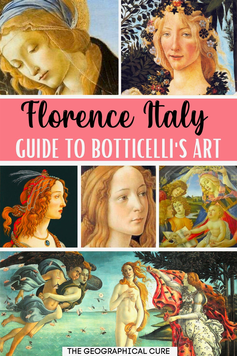 guide to Botticelli's most famous paintings in Florence Italy