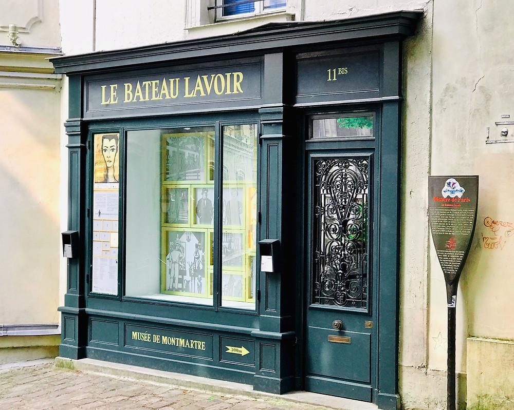 Bateau Lavoir, artist studio in Montmartre
