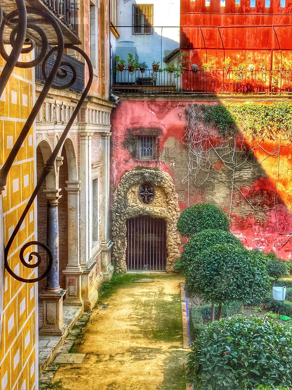 the Venus Grotto in the gardens of the Casa de Pilatos