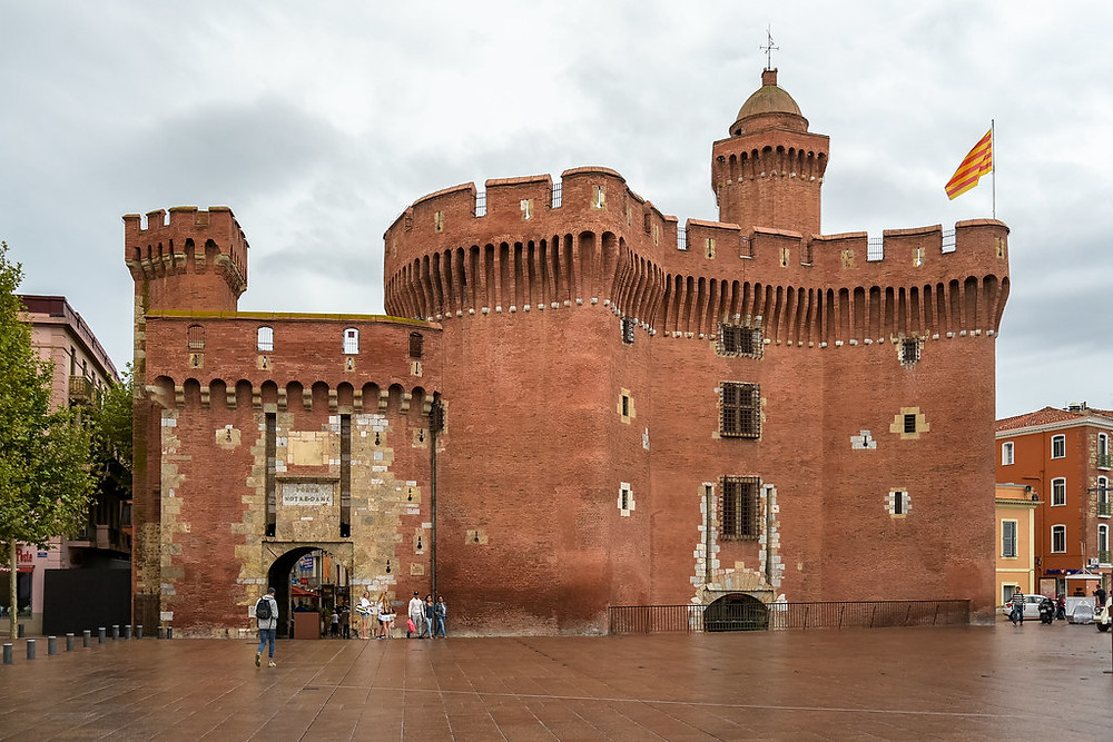 the Castillet in Perpignan