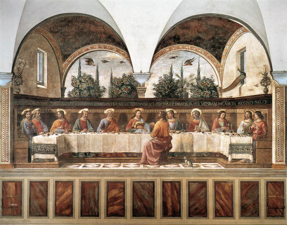 Ghirlandaio, The Last Supper, 1486