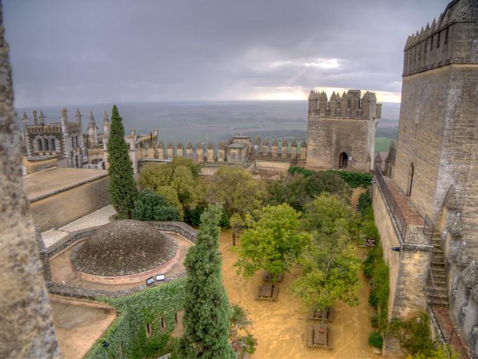 the 8th century Castillo de Almodovar Del Rio outside Cordoba