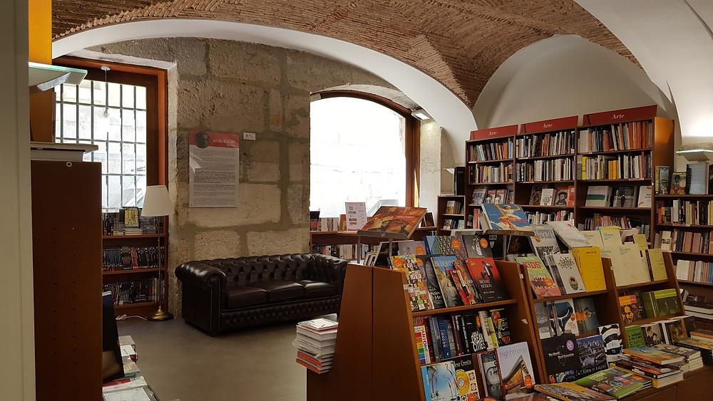 Livraria Bertrand in Lisbon's Chiado area