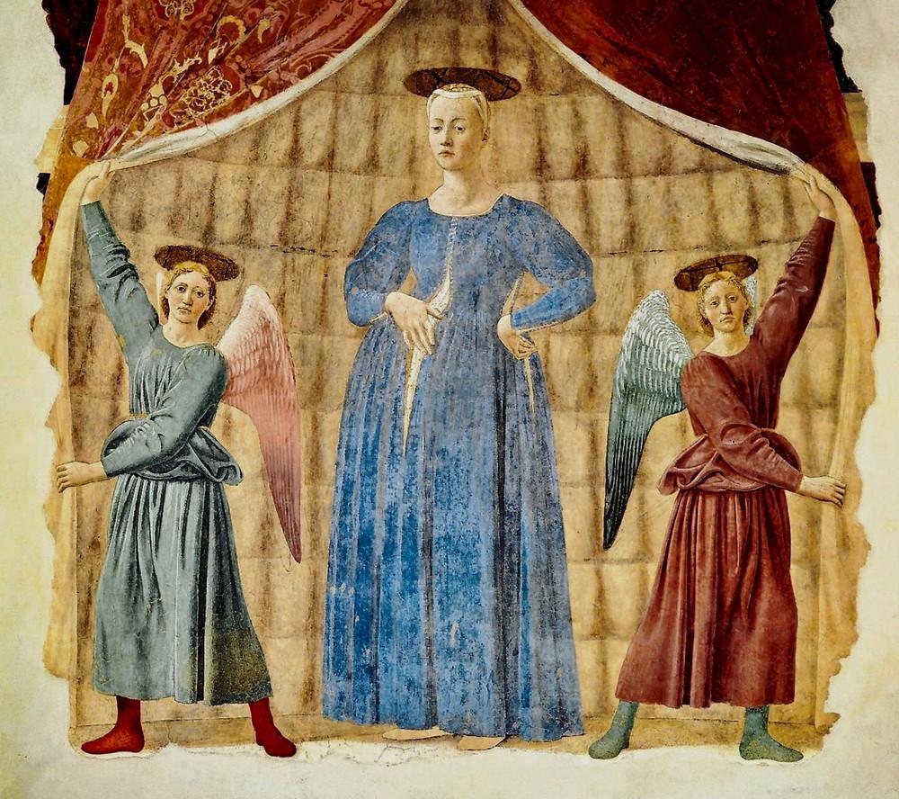 Piero della Francesca, Madonna del Parto, 1455-65