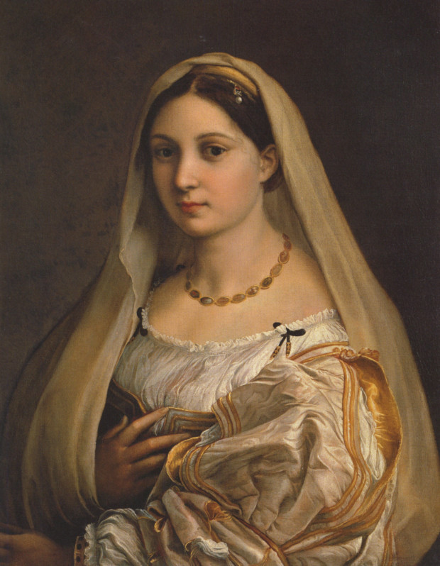 Raphael's Woman With a Veil in Florence's Pitti Palace