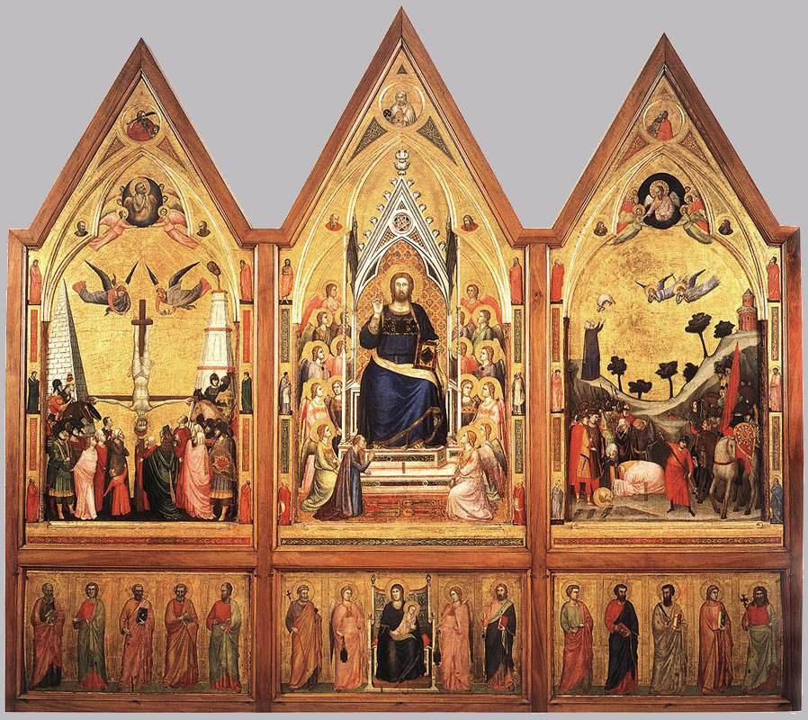 Giotto, Stefaneschi Polyptych, 1320