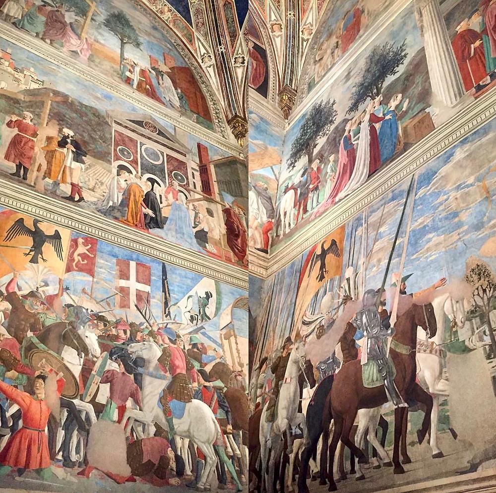 Piero della Francesca, Legend of the True Cross, 1452-66