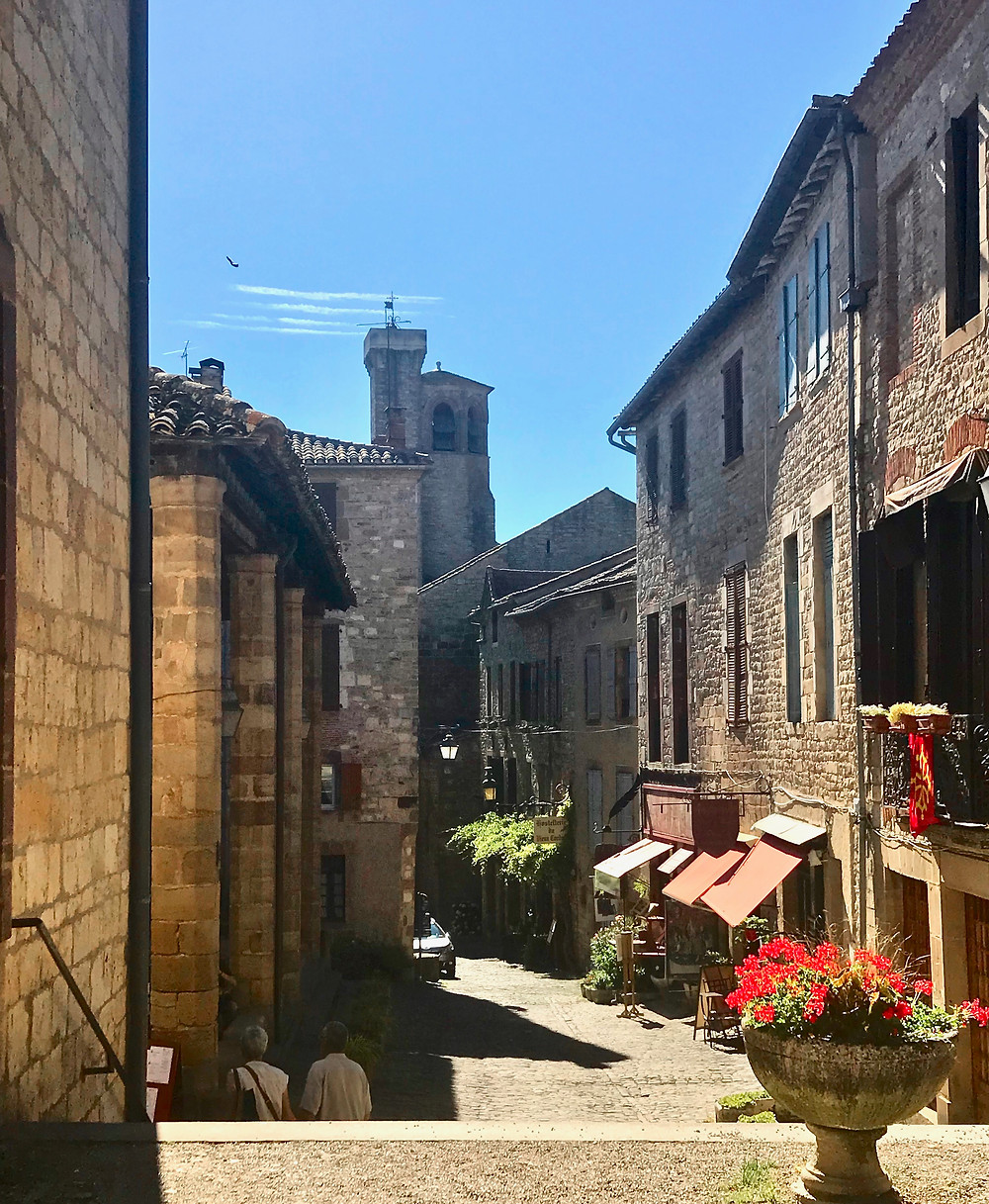 yet another dreamy cobbled street in Cordes Sur Ceil