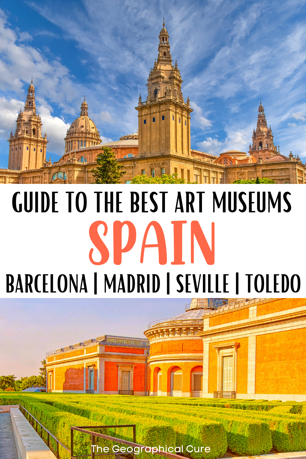 ultimate guide to the best art museums in Spain, for your Spain bucket list