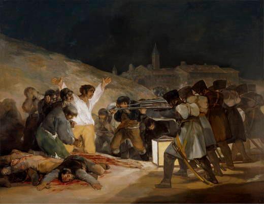 Francisco Goya, The Third of May 1808, 1814