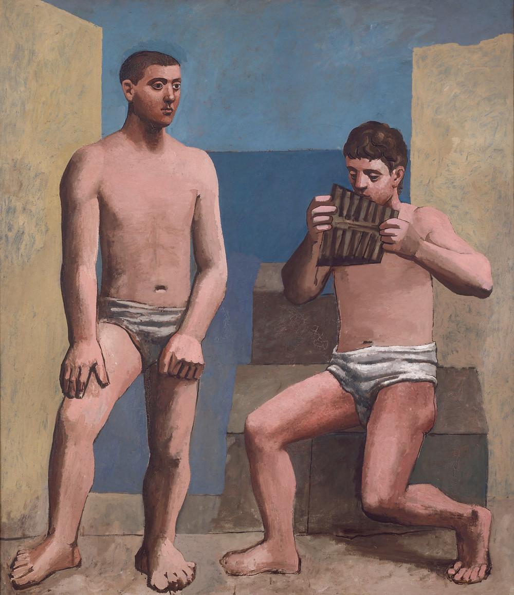 Picasso, La Flûte de Pan, 1923