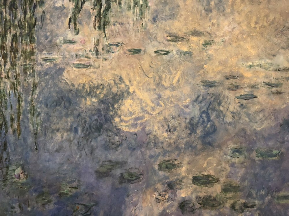 Claude Monet, Detail, the Water Lilies, The Two Willows