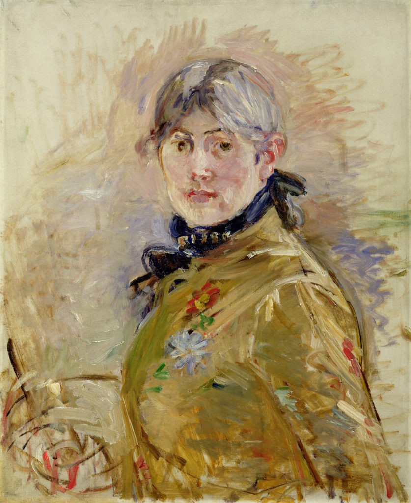 Berthe Morisot, Self-Portrait, 1885